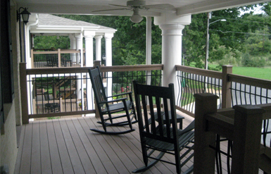 Pullen Ridge Porch